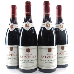 """Faiveley """"Les Pruliers"""" 2012 Nuits-Saint-Georges 1er-Cru 4x75cl"""