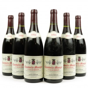 G.Barthod Veroilles 2002 Chambolle-Musigny 1er-Cru 6x75cl