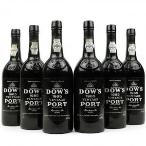 Dow's 1985 Vintage Port 6x75cl
