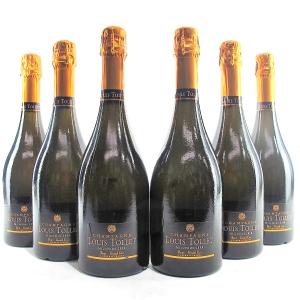 Louis Tollet 2008 Vintage Champagne Grand-Cru 6x75cl