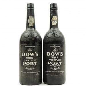 Dow's 1983 Vintage Port 2x75cl