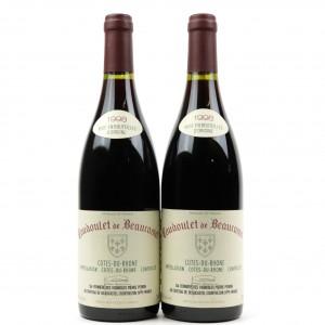 Coudoulet De Beaucastel 1998 Côtes-Du-Rhône 2x75cl