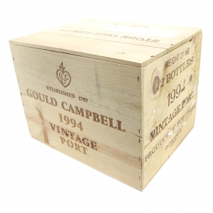 Gould Campbell 1994 Vintage Port 12x75cl / Original Wooden Case