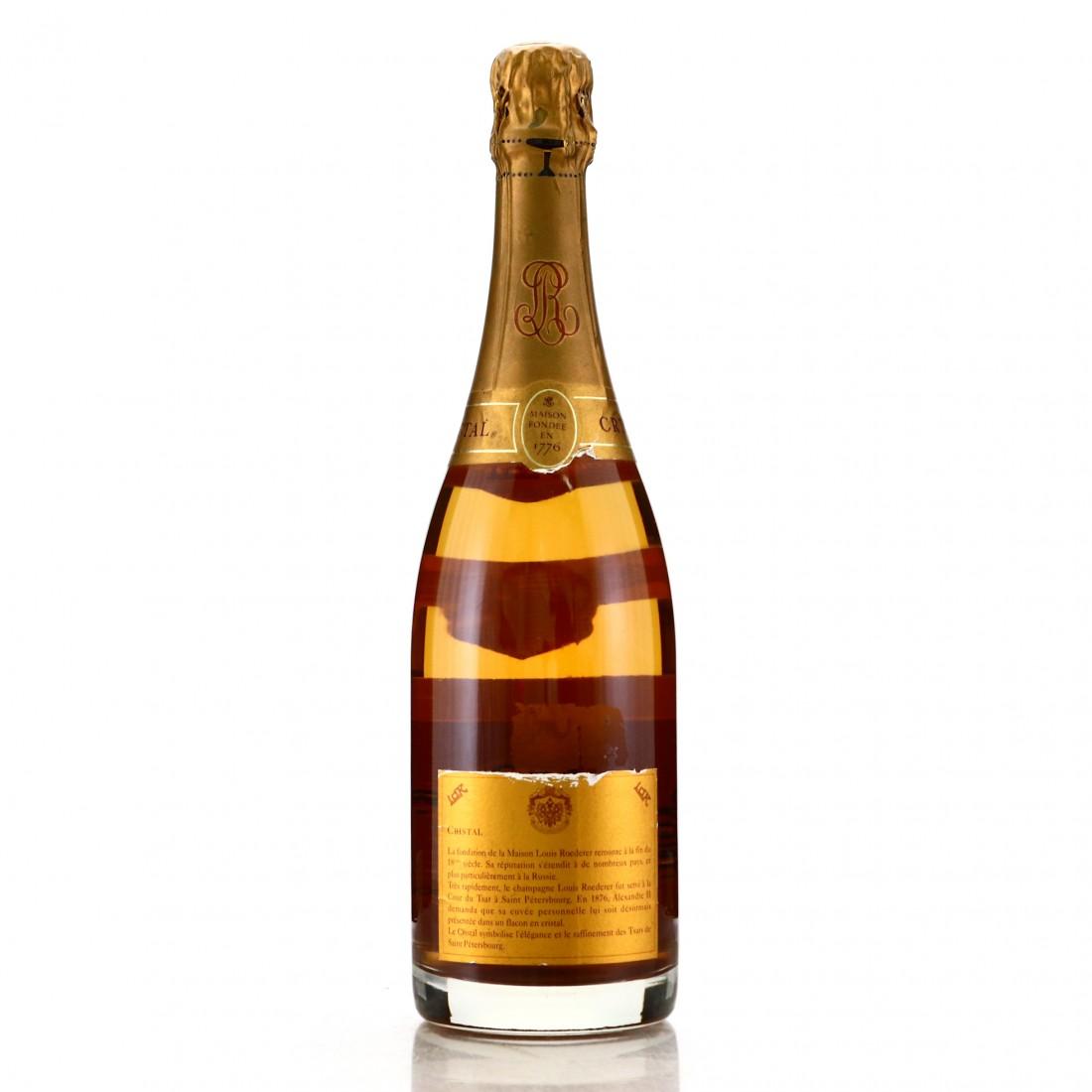 Louis Roederer Cristal 1990 Vintage Champagne