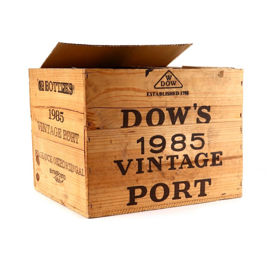 Dow's 1985 Vintage Port 11x75cl