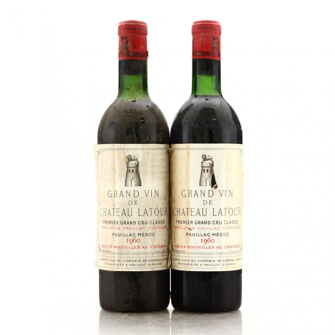 Ch. Latour 1960 Pauillac 1er-Cru 2x75cl