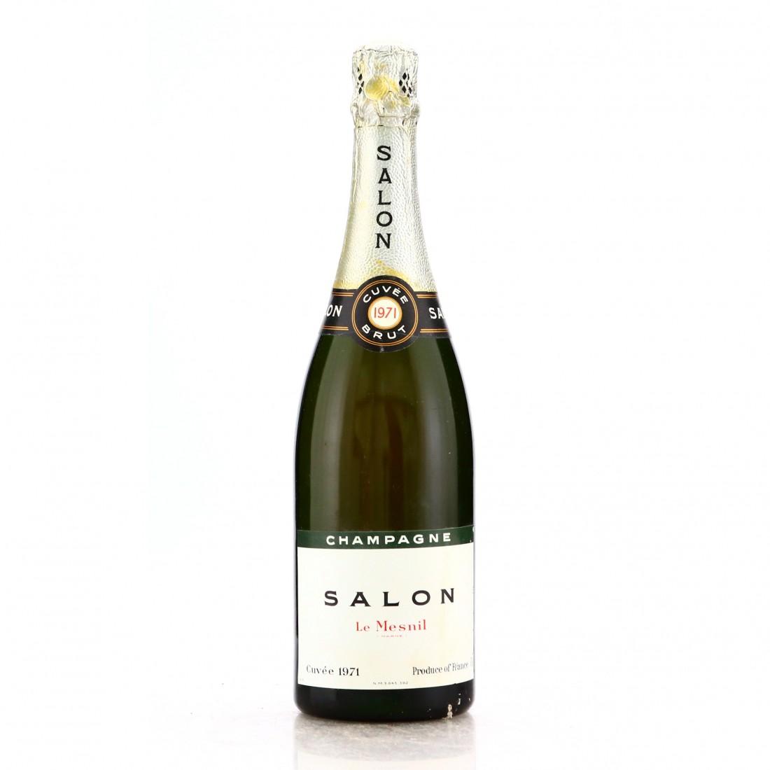 Salon Le Mesnil Brut 1971 Vintage Champagne