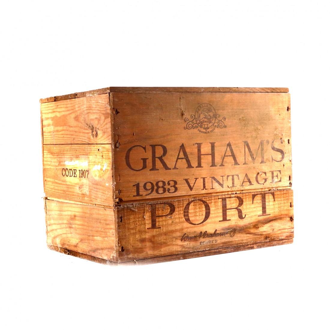 Graham's 1983 Vintage Port 8x75cl / OWC