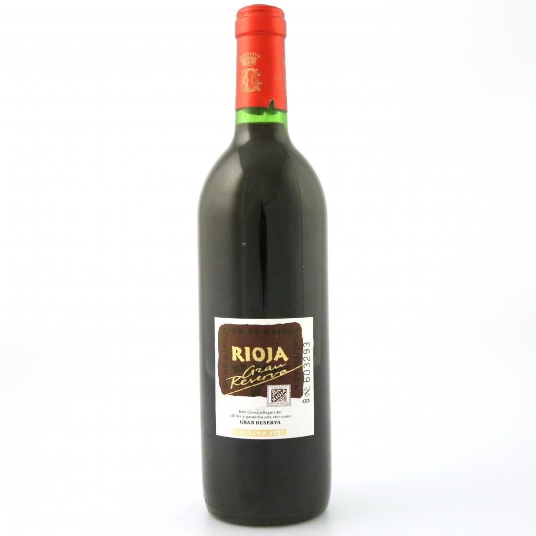 "Marques De Murrieta ""Castillo Ygay"" 1987 Rioja Gran Reserva"
