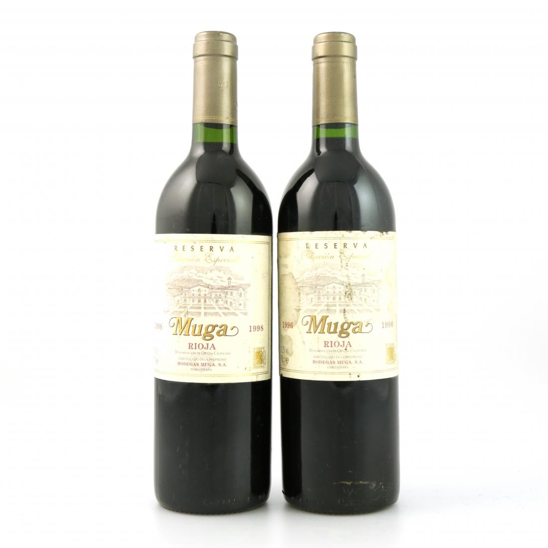 Muga 1996 & 1998 Rioja Reserva 2x75cl