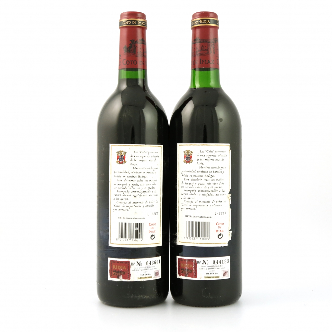 Coto De Imaz 1994 Rioja Reserva 2x75cl