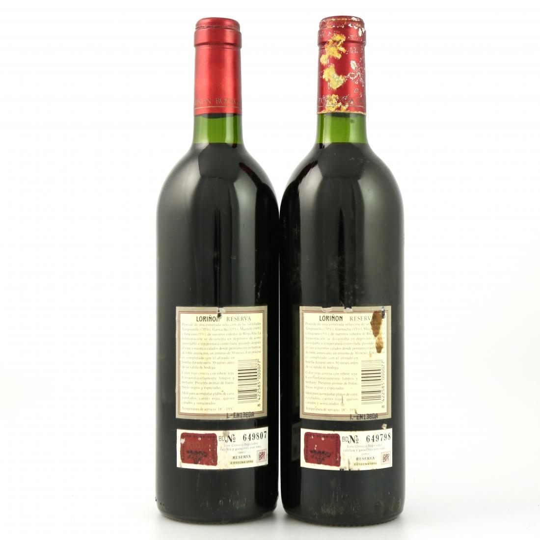 Loriñon 1994 Rioja Reserva 2x75cl