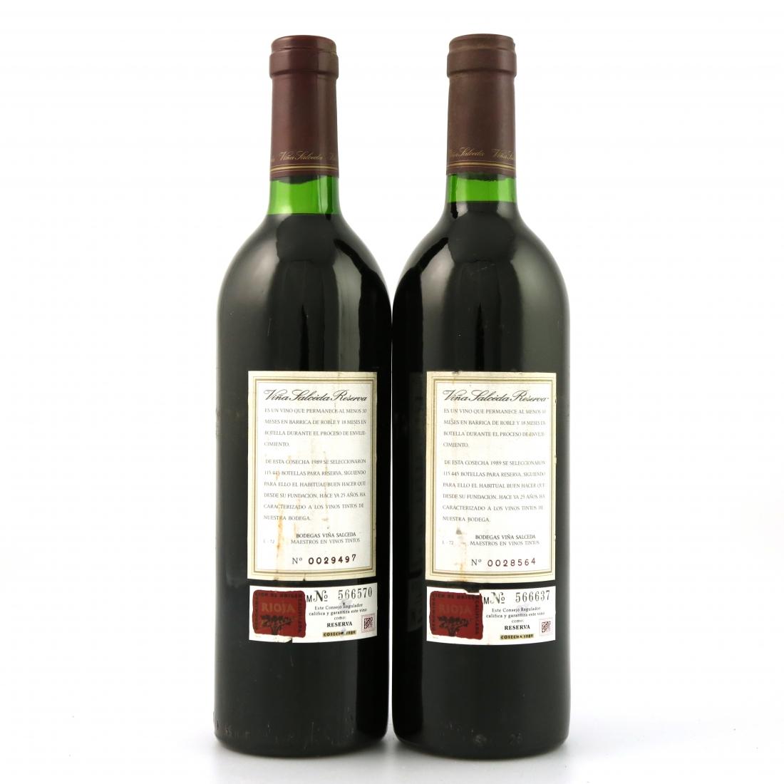 Viña Salceda 1989 Rioja Reserva 2x75cl