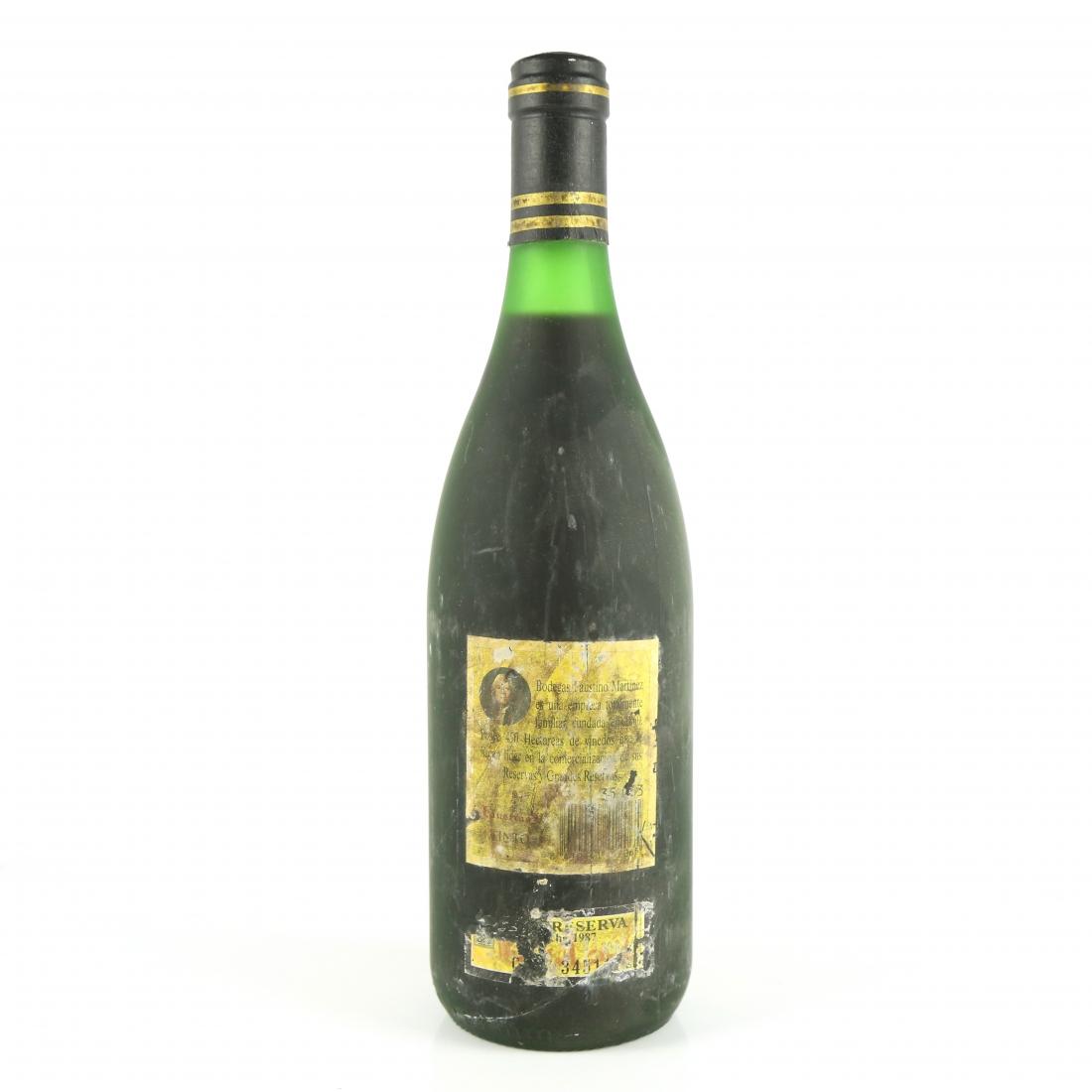Faustino V 1987 Rioja Reserva