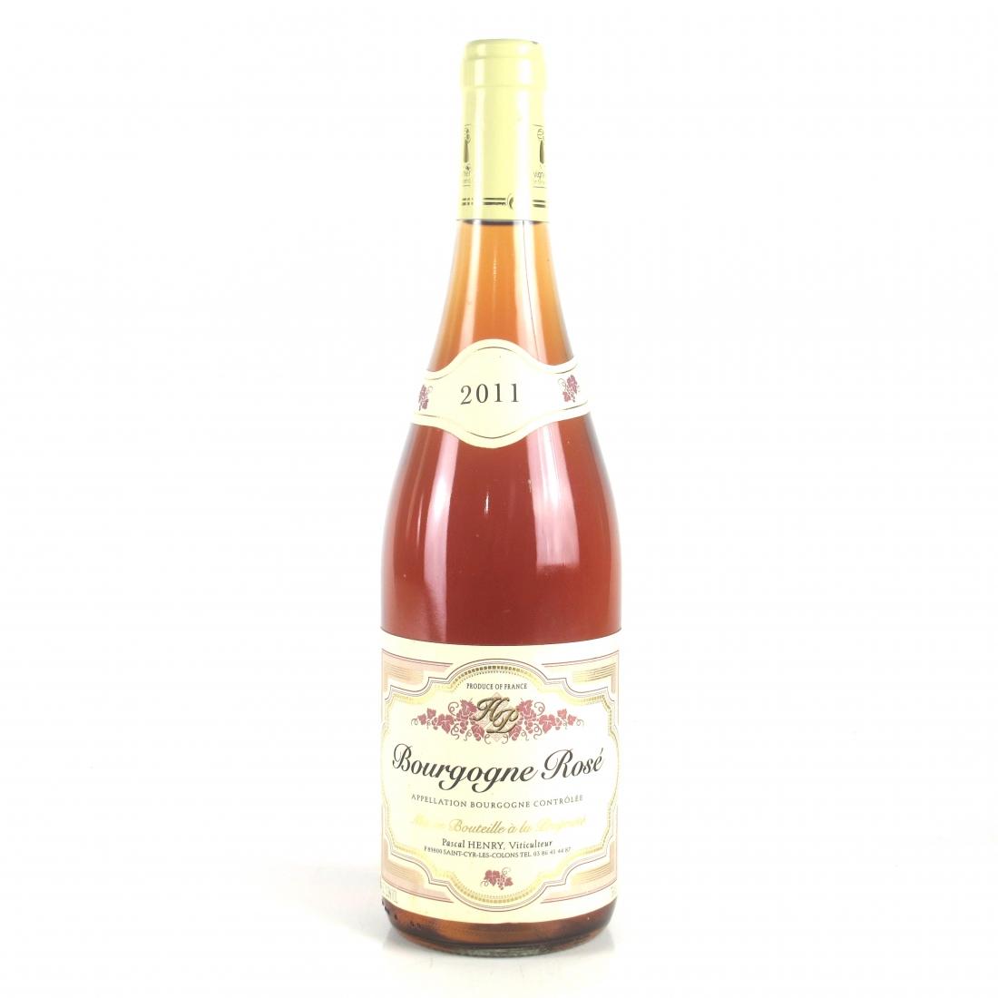 P.Henry 2011 Bourgogne Rosé