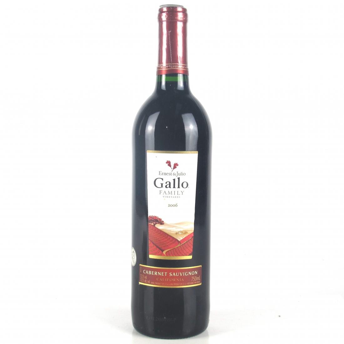 Gallo Cabernet Sauvignon 2006 California