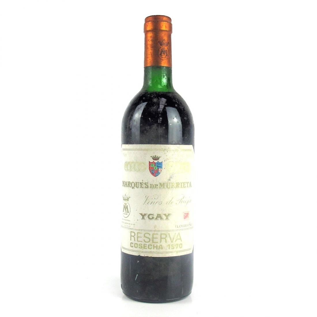 Marques De Murrieta 1970 Rioja Reserva