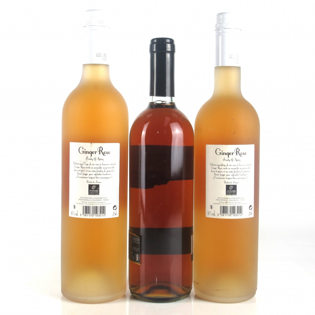 Assorted Old World Rosé Wines 3x75cl