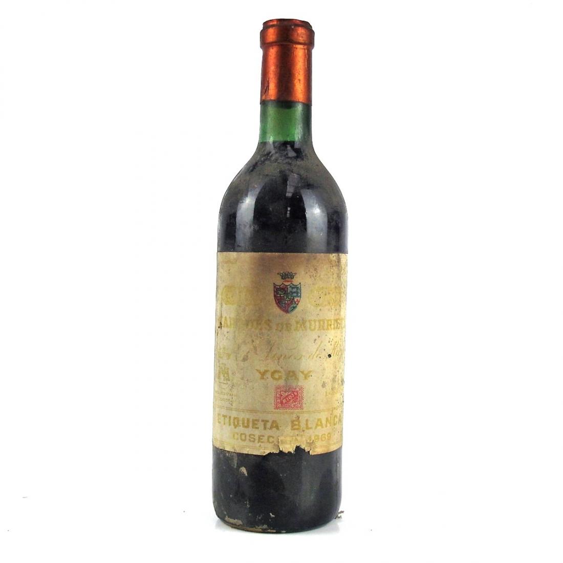 "Marques De Murrieta ""Etiqueta Blanca"" 1969 Rioja Crianza"
