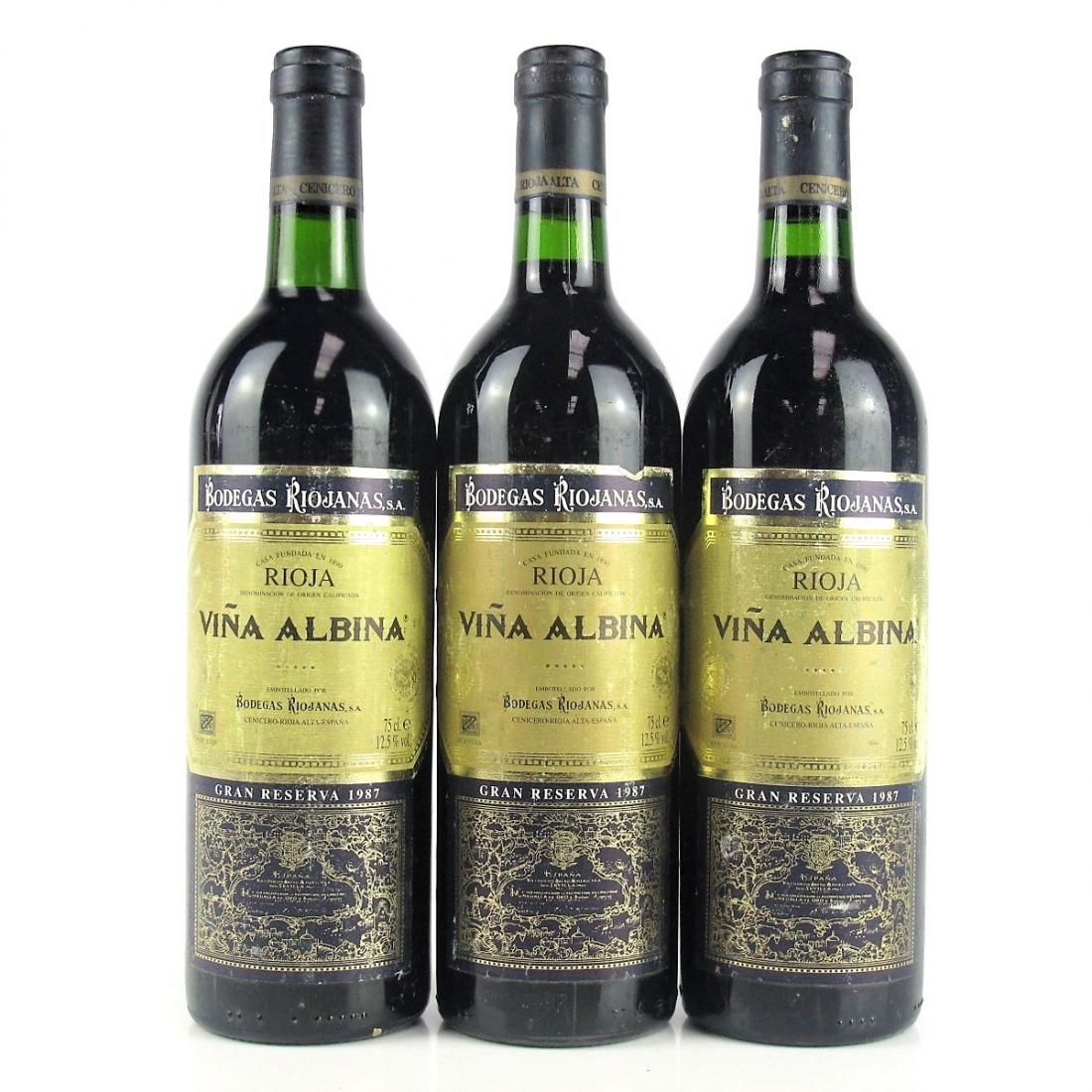 Viña Albina 1987 Rioja Gran Reserva 3x75cl