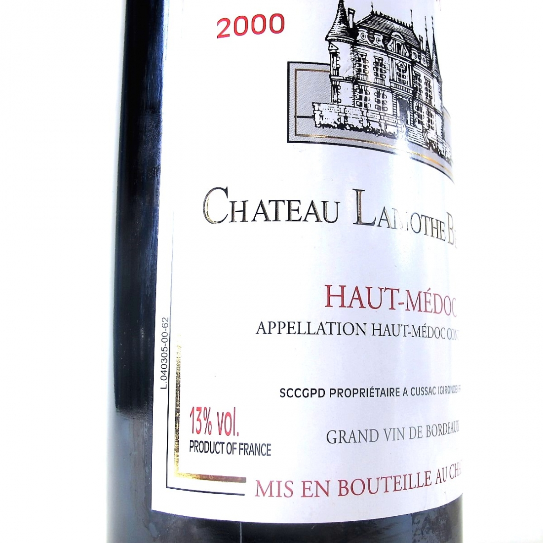 Ch. Lamothe Bergeron 2000 Haut-Medoc 150cl
