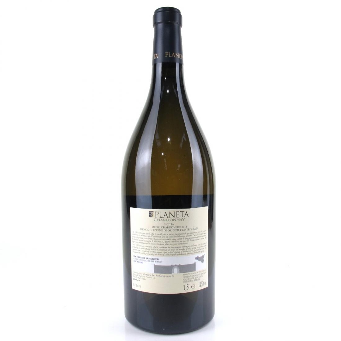 Planeta Chardonnay 2014 Sicily 150cl