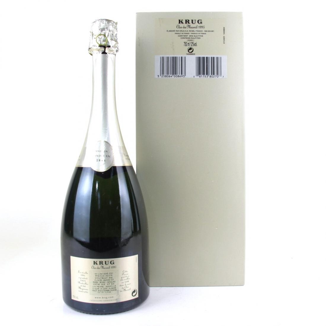 "Krug ""Clos du Mesnil"" Brut Blanc de Blancs 1995 Champagne"