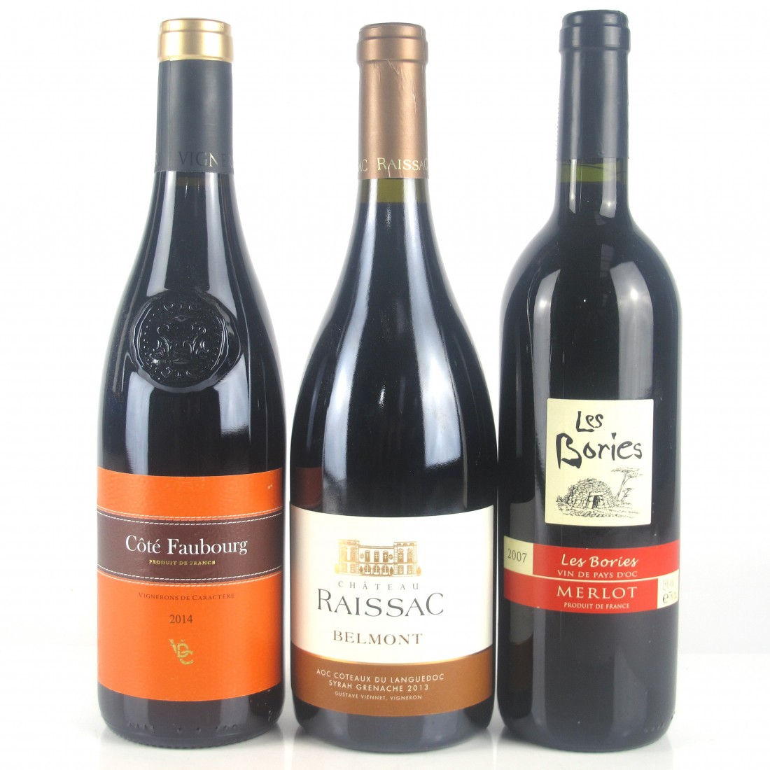 Assorted Southern French Red Wines 3x75cl