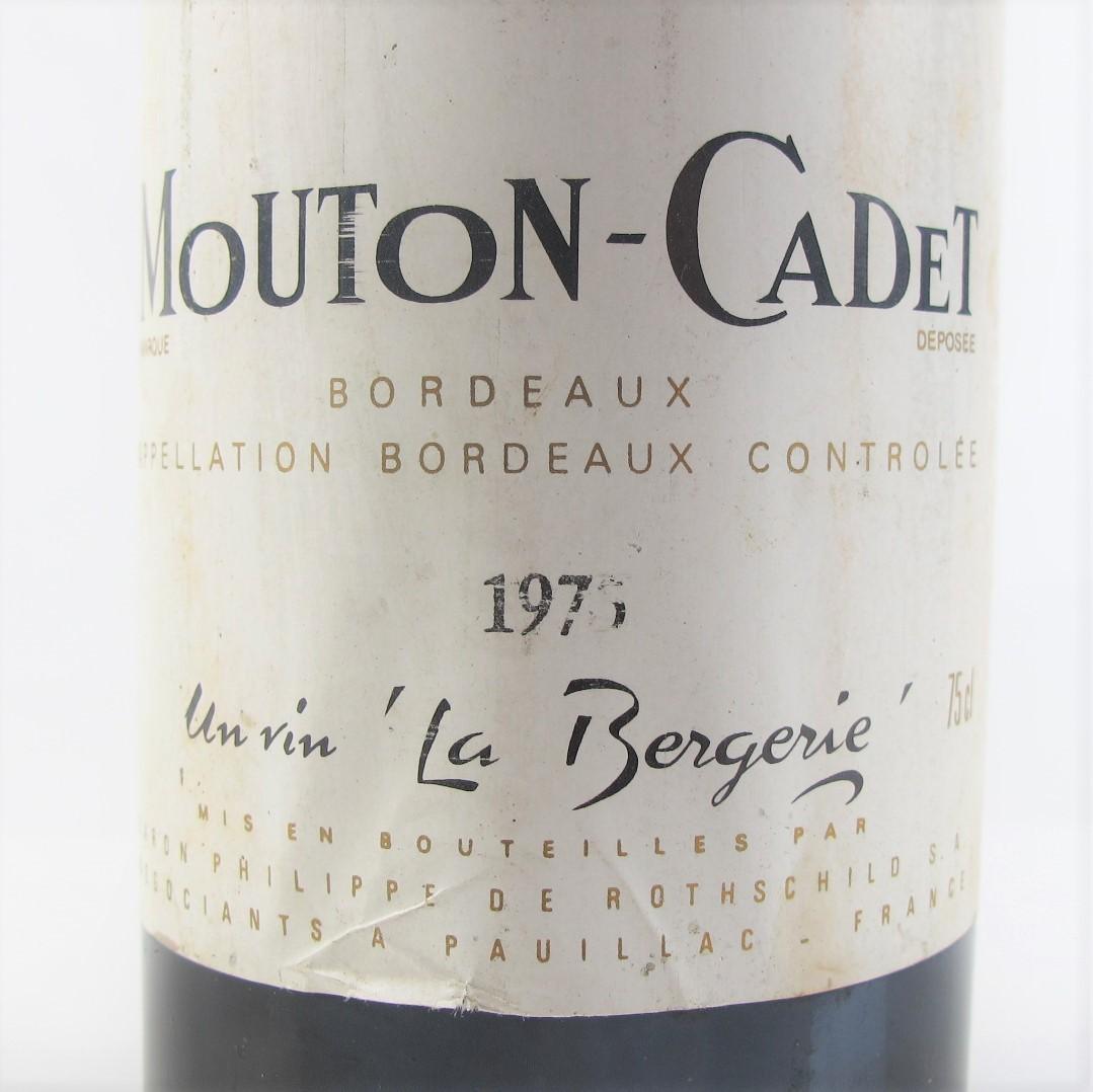 Mouton-Cadet 1975 Bordeaux