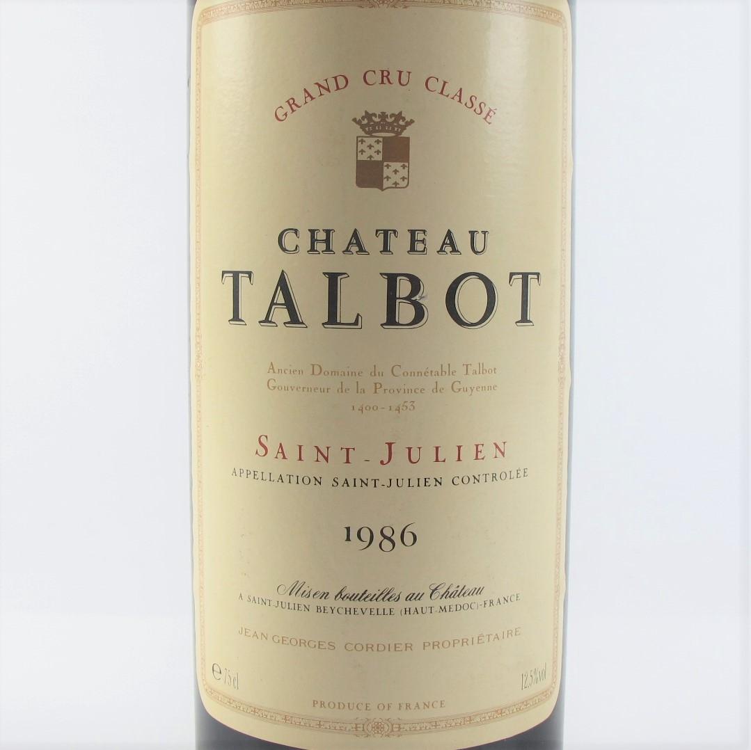 Ch. Talbot 1986 Saint-Julien