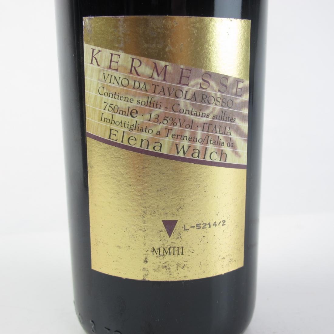 """Elena Walch """"Kermesse"""" 2003 Tramin 2x75cl"""