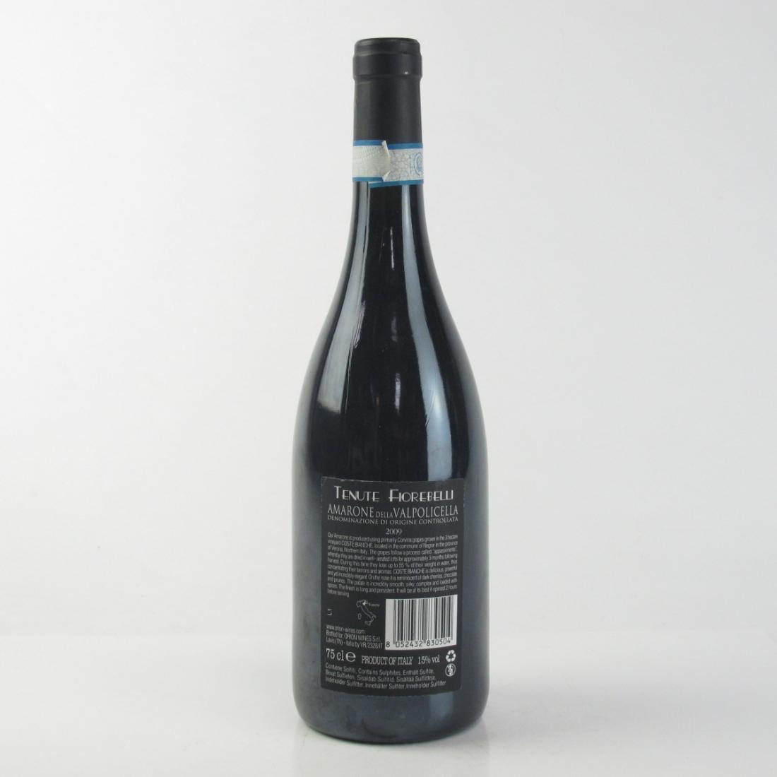"""Fiorebelli """"Coste Bianche"""" 2009 Amarone"""