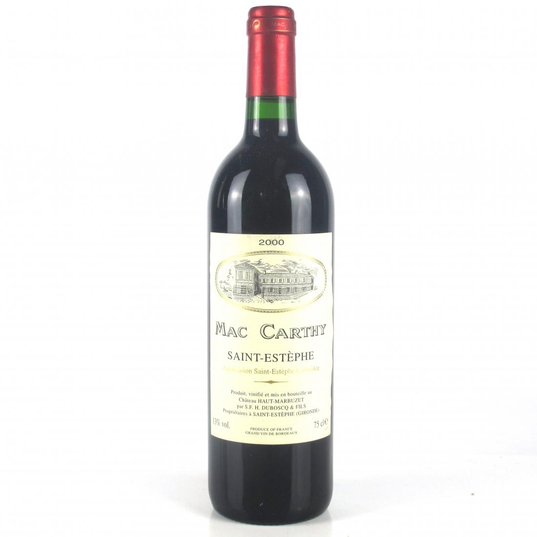 Mac Carthy 2000 Saint-Estephe