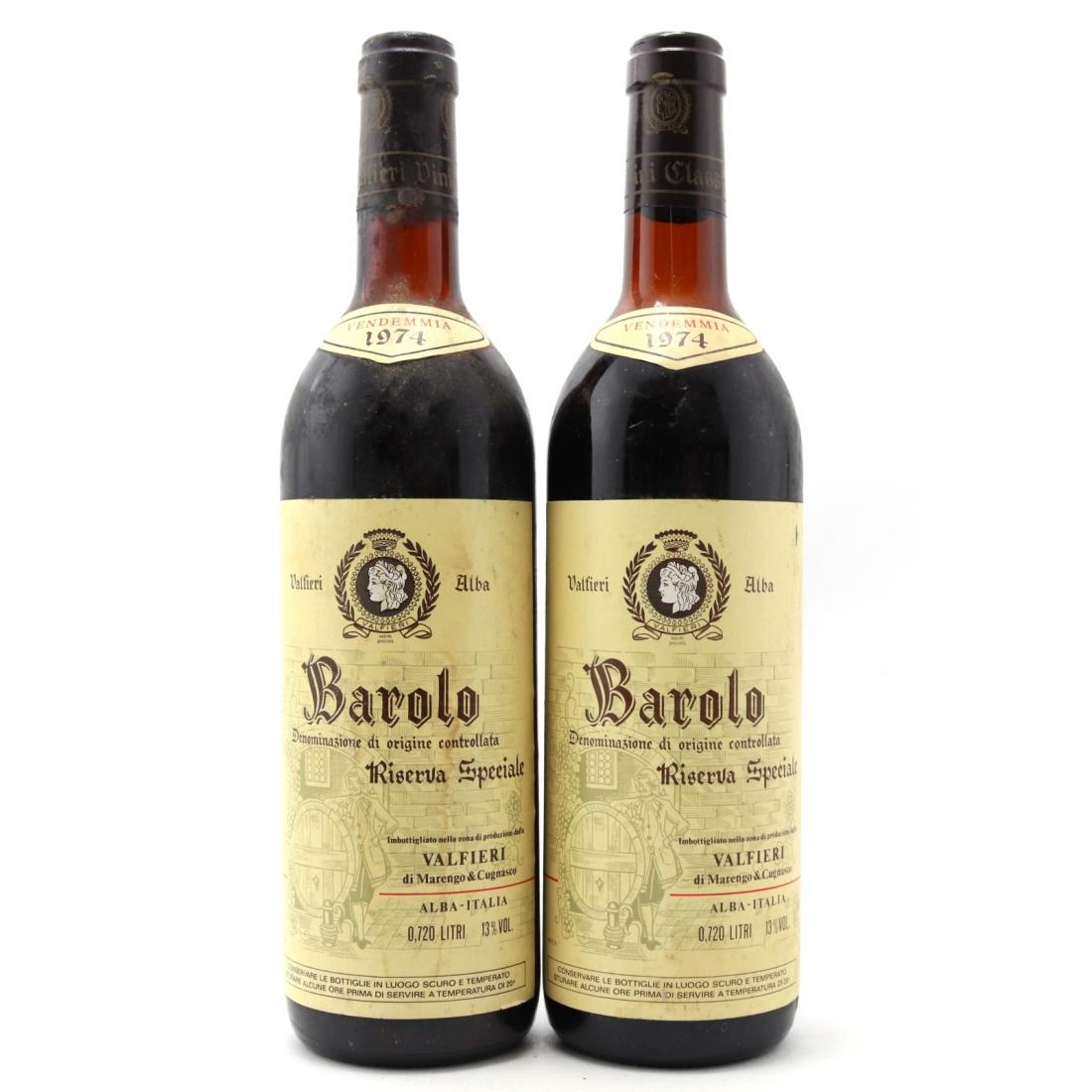 Valfieri 1974 Barolo Riserva 2x72cl