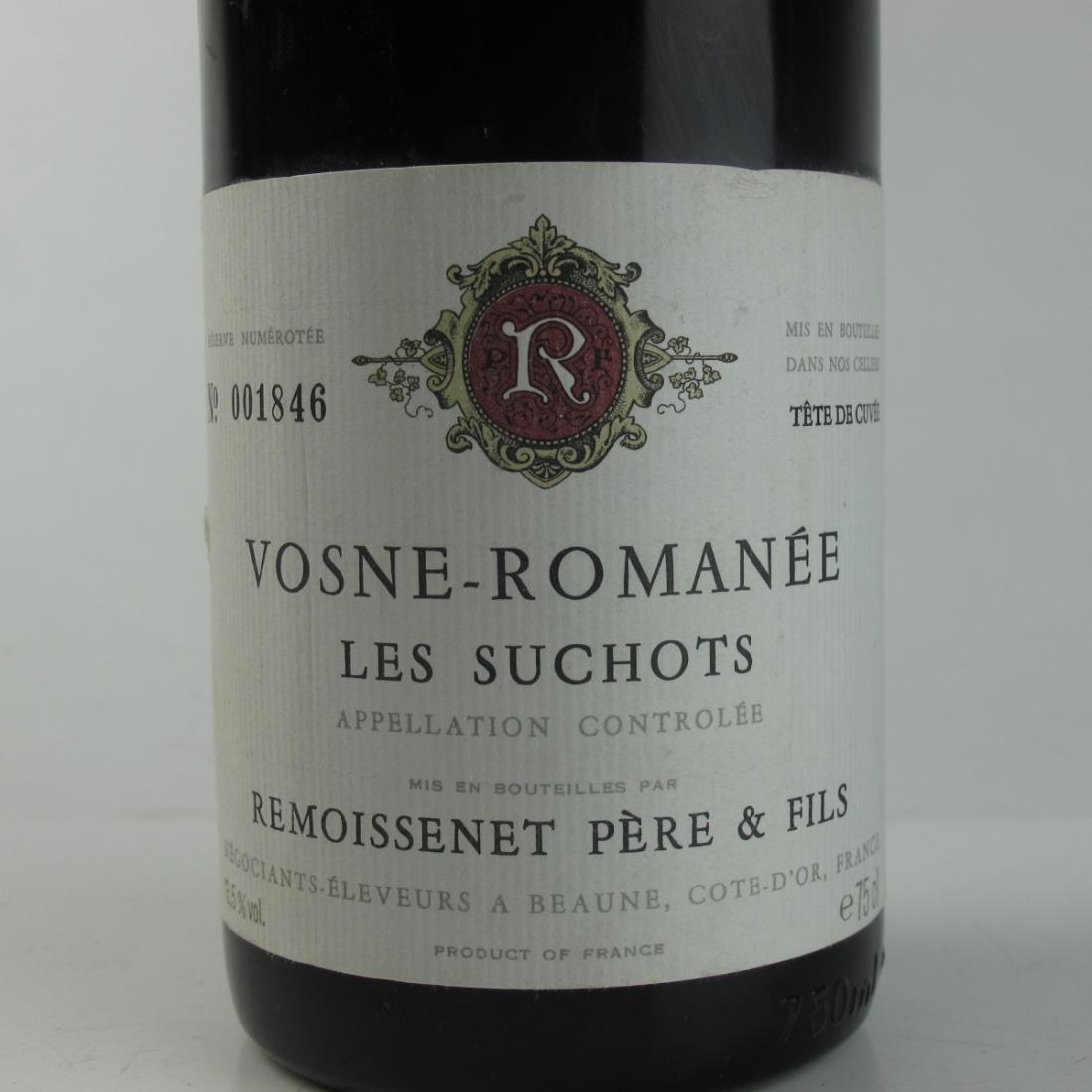 "Remoissenet ""Les Suchots"" 1987 Vosne-Romanee 1er-Cru"
