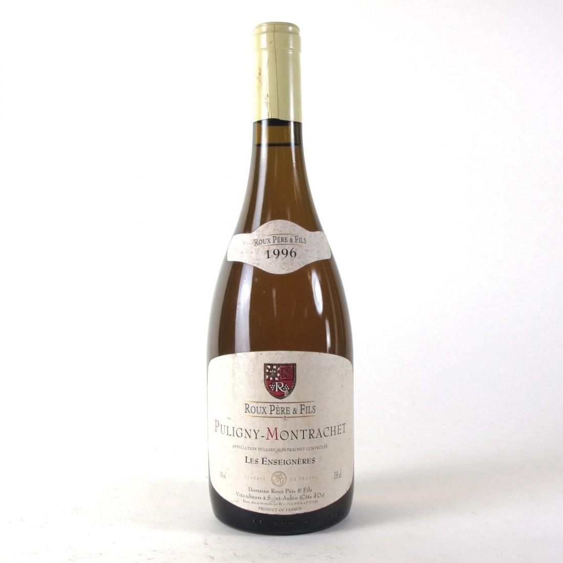 Roux Pere & Fils 1996 Puligny-Montrachet