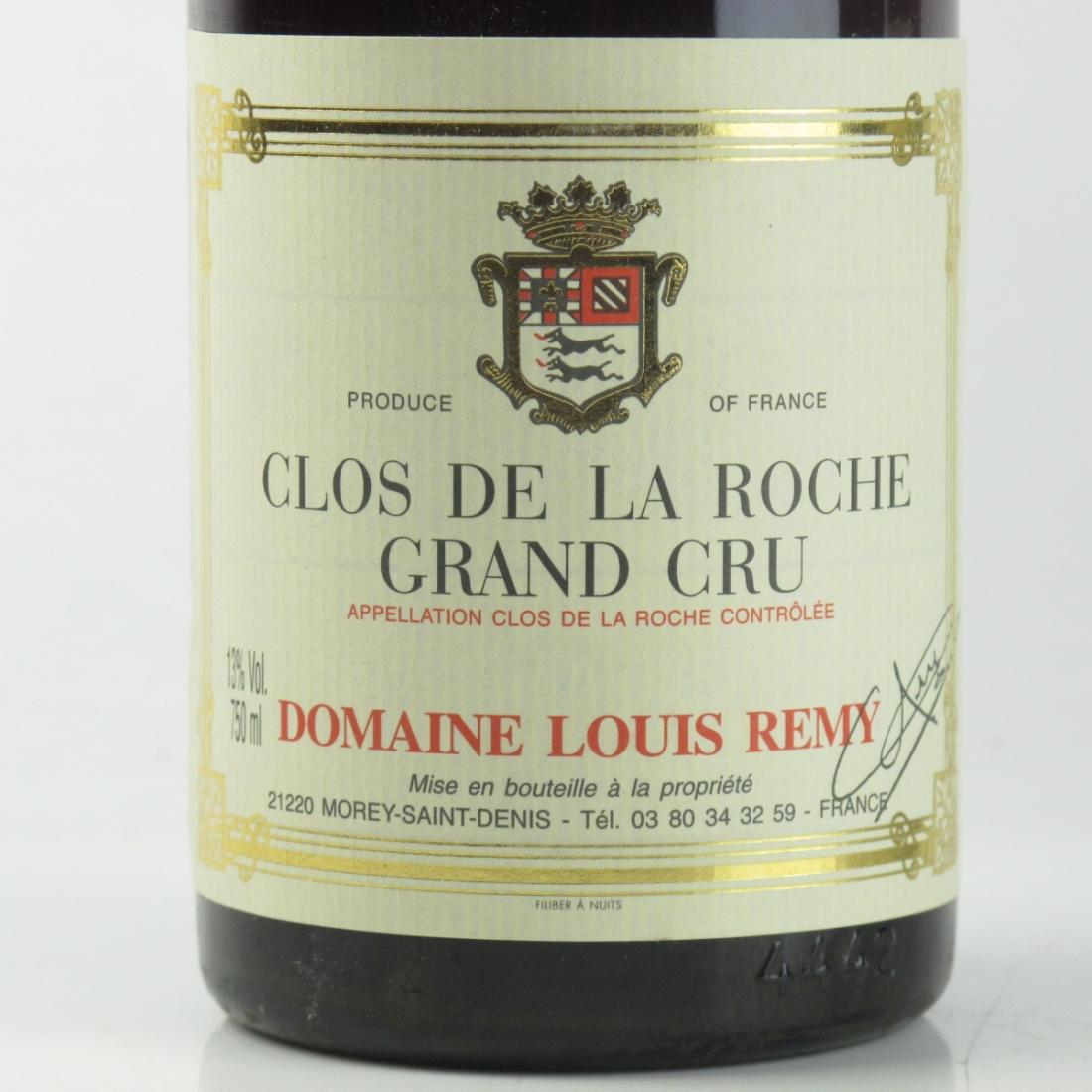 Dom. L.Remy 1982 Clos De La Roche Grand-Cru
