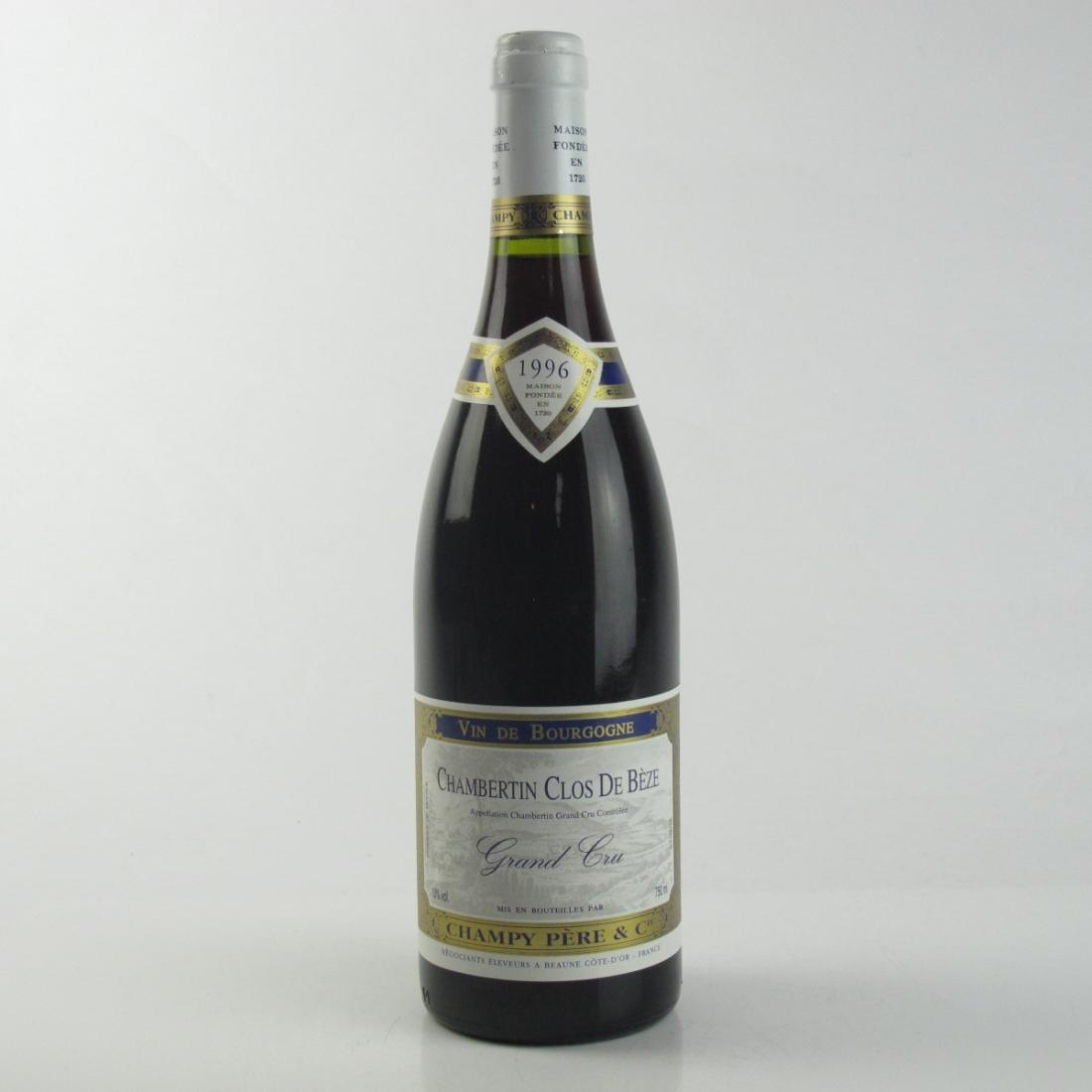 "Champy Pere & Cie ""Clos De Beze"" 1996 Chambertin Grand-Cru"
