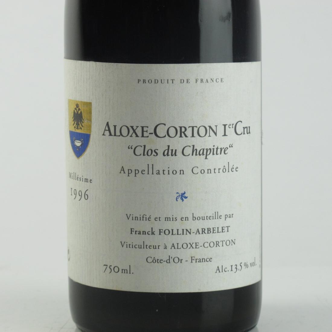 "F.Arbelet ""Clos Du Chapitre"" 1996 Aloxe-Corton Grand-Cru"