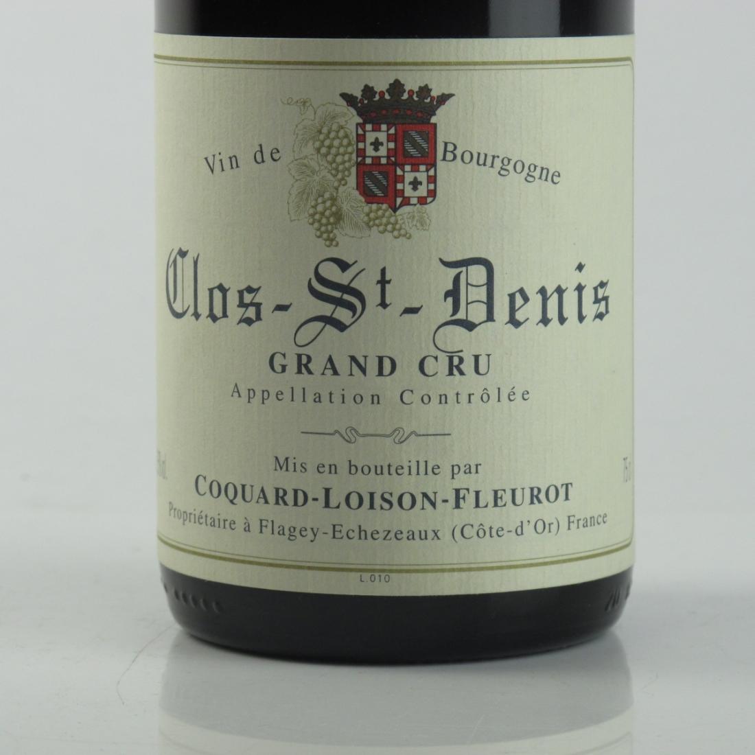 C.L.Fleurot 2001 Clos-St-Denis Grand-Cru