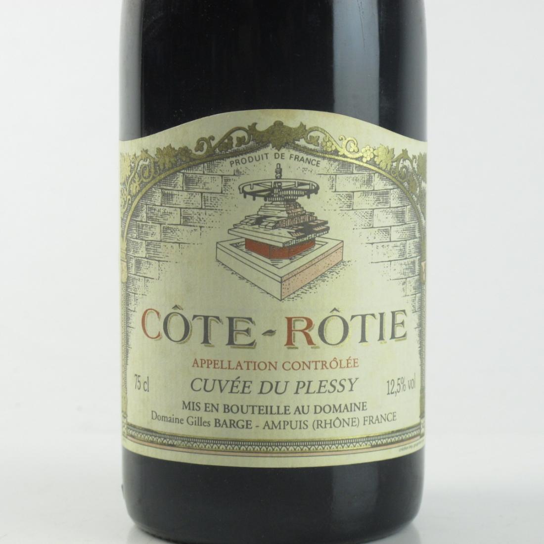 Dom. Gilles Barge 1996 Côte Rôtie