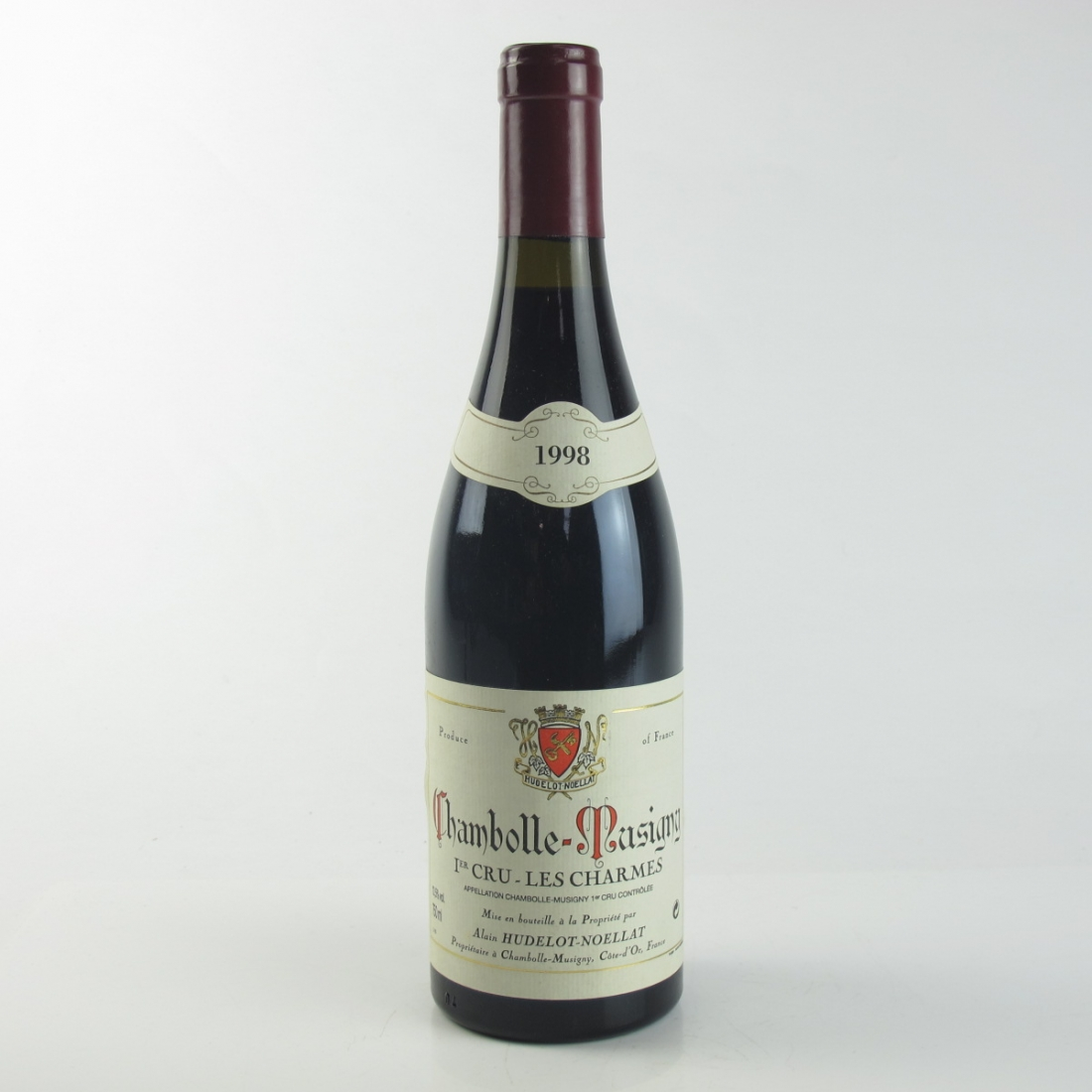 """A.H.Noellat """"Les Charmes"""" 1998 Chambolle-Musigny 1er-Cru"""