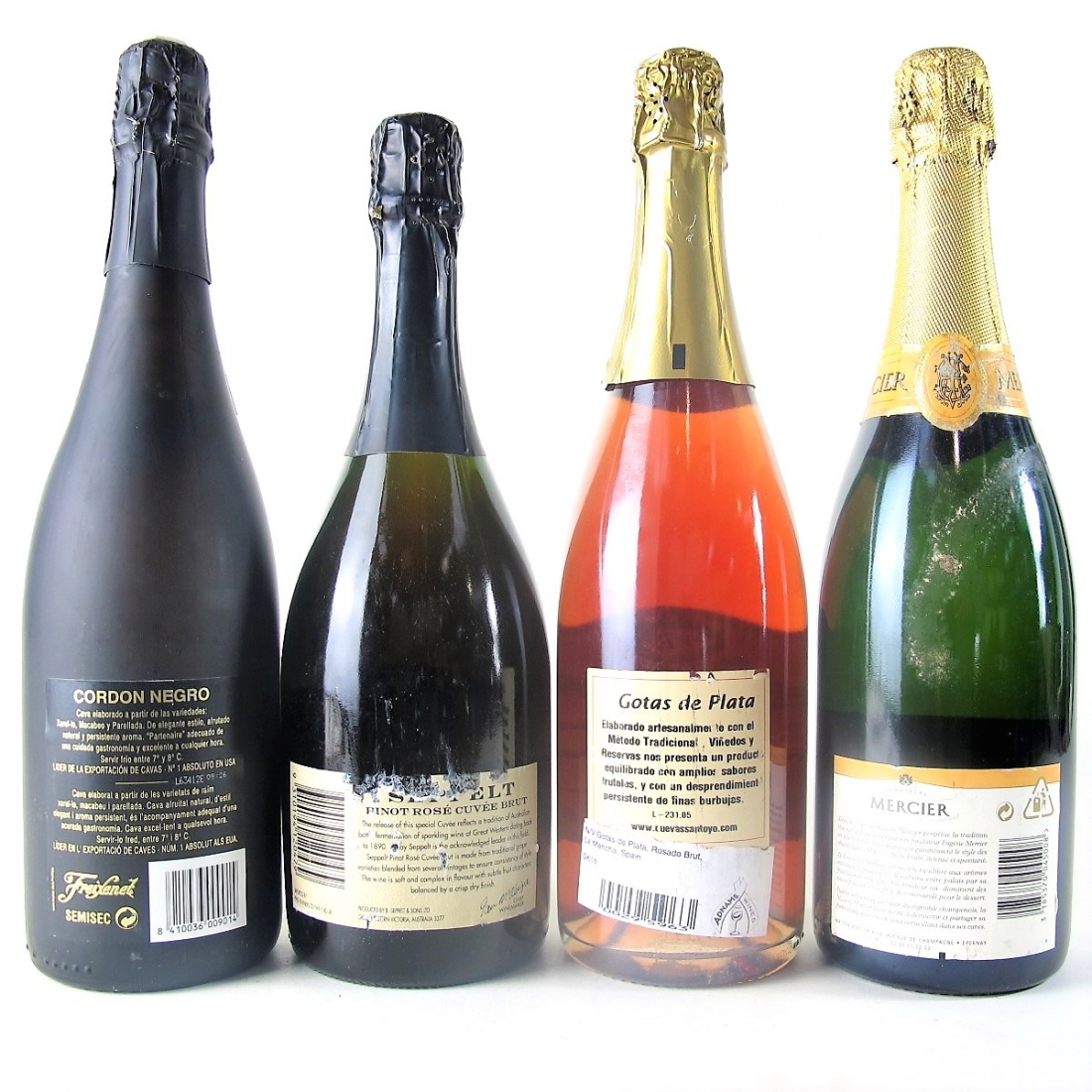 Assorted Sparkling Wines 4x75cl