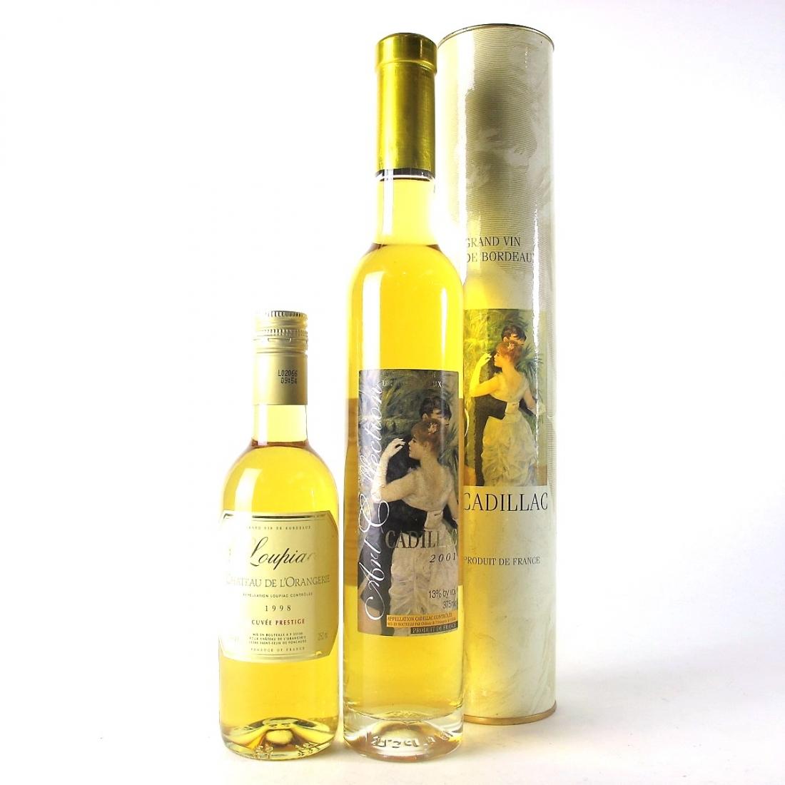 Ch. De L'Orangerie Sweet Bordeaux Wines / 2x Various Sizes