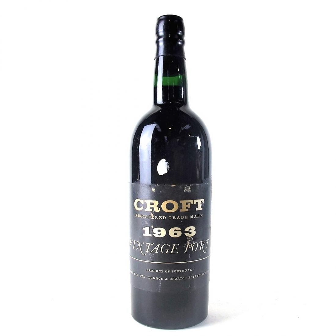 Croft 1963 Vintage Port