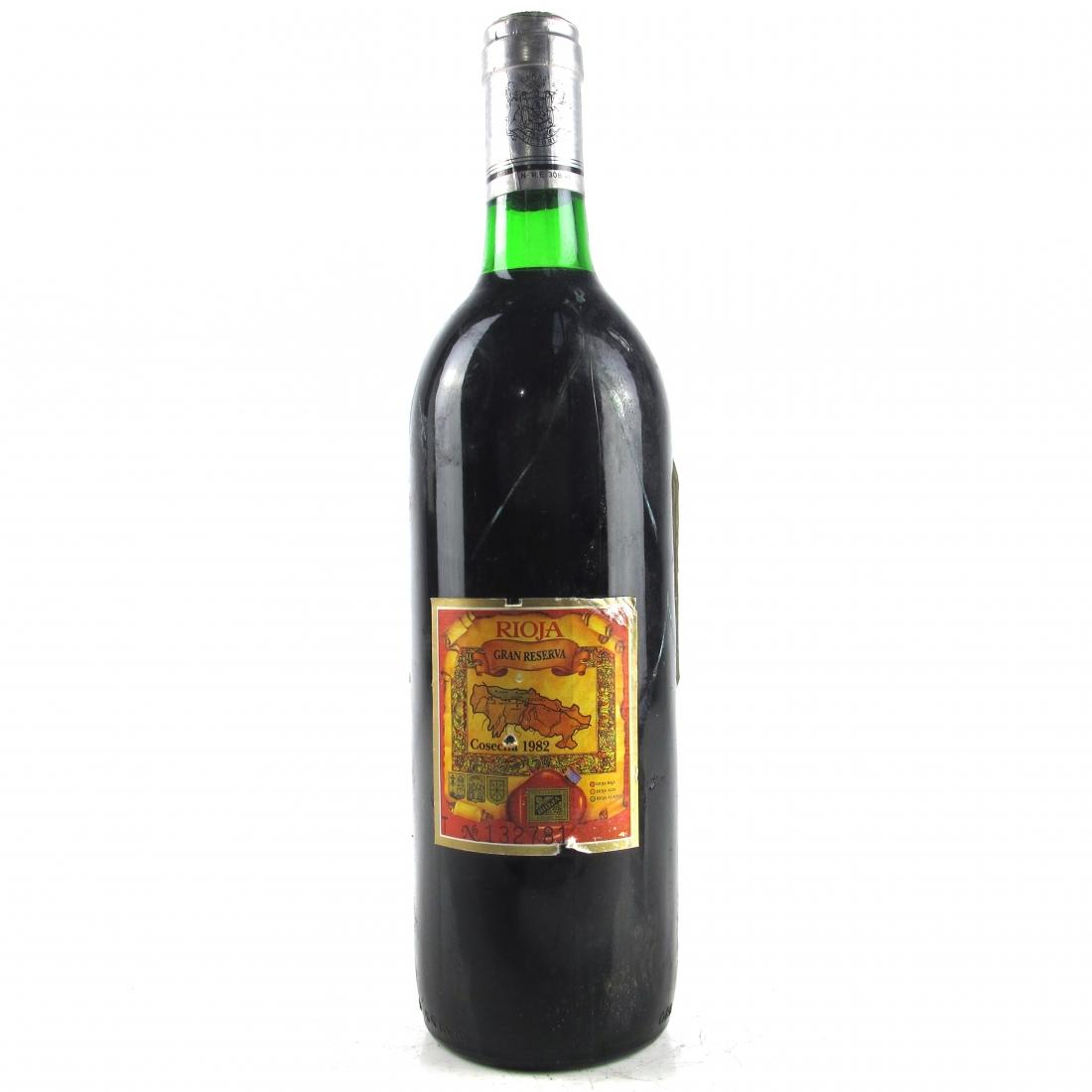 Marques De Riscal 1982 Rioja Gran Reserva