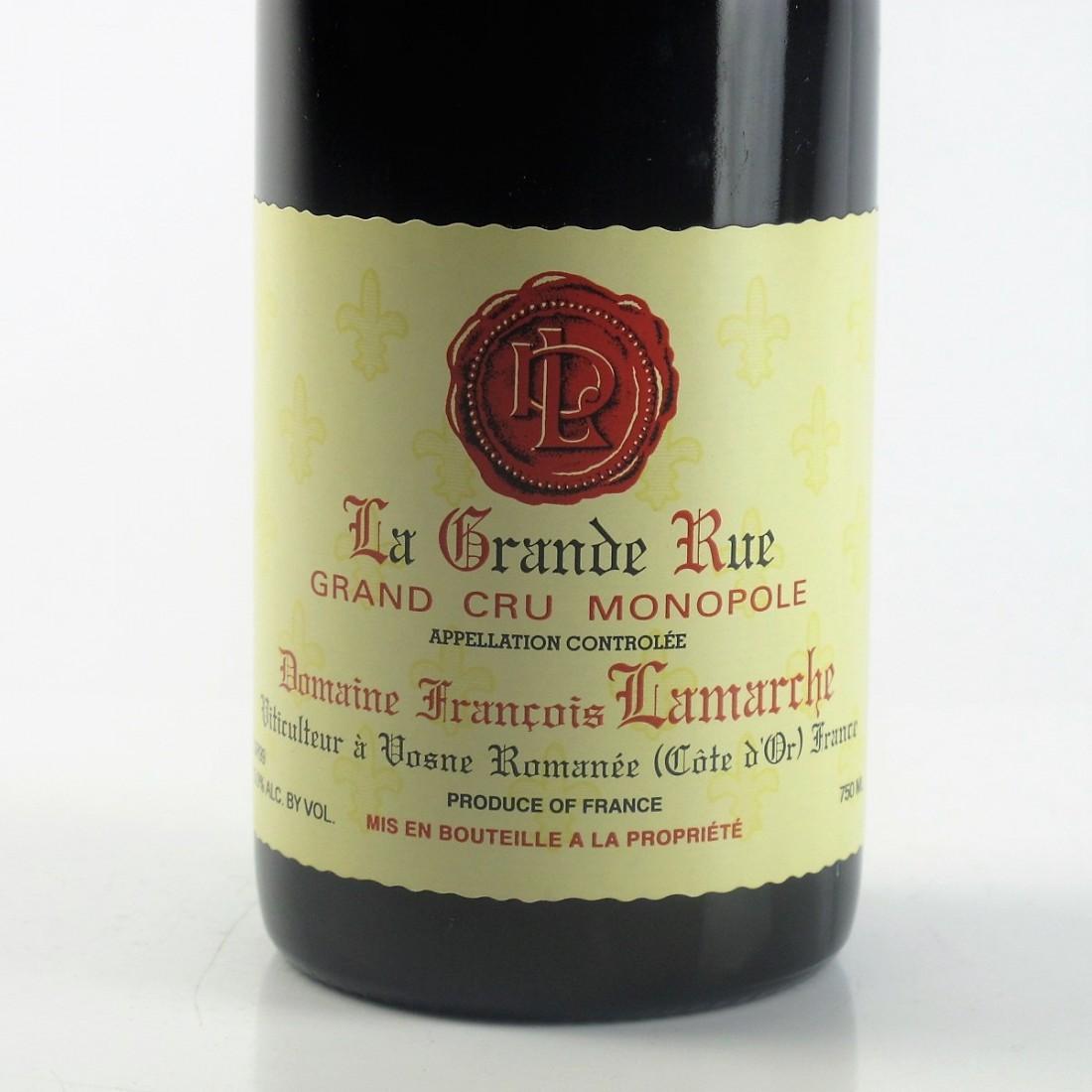 Dom. Lamarche 1999 La Grande Rue Grand-Cru