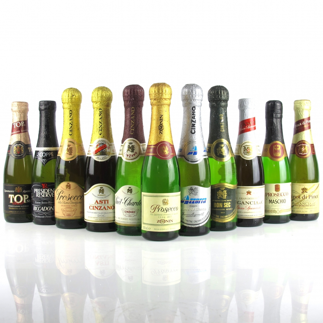 Assorted Italian Sparkling Wines 11x20cl