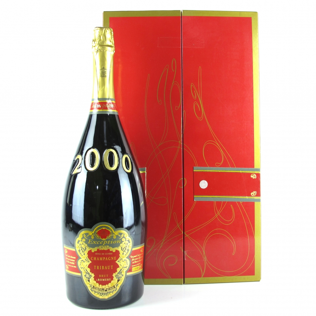 """Tribaut """"Exception"""" Brut Vintage 2000 Champagne 300cl"""