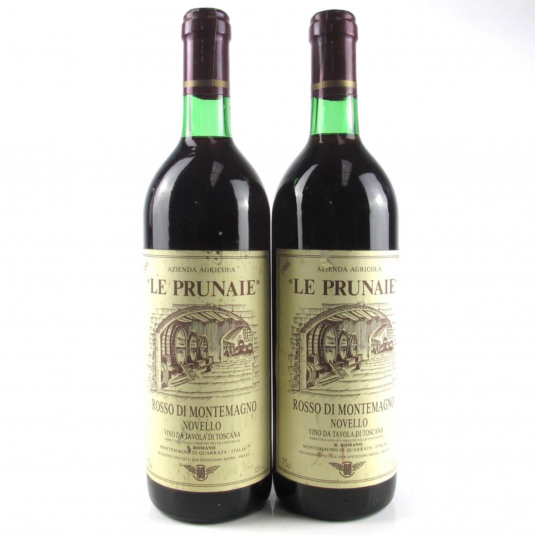 Le Prunaie 1986 Tuscany 2x75cl
